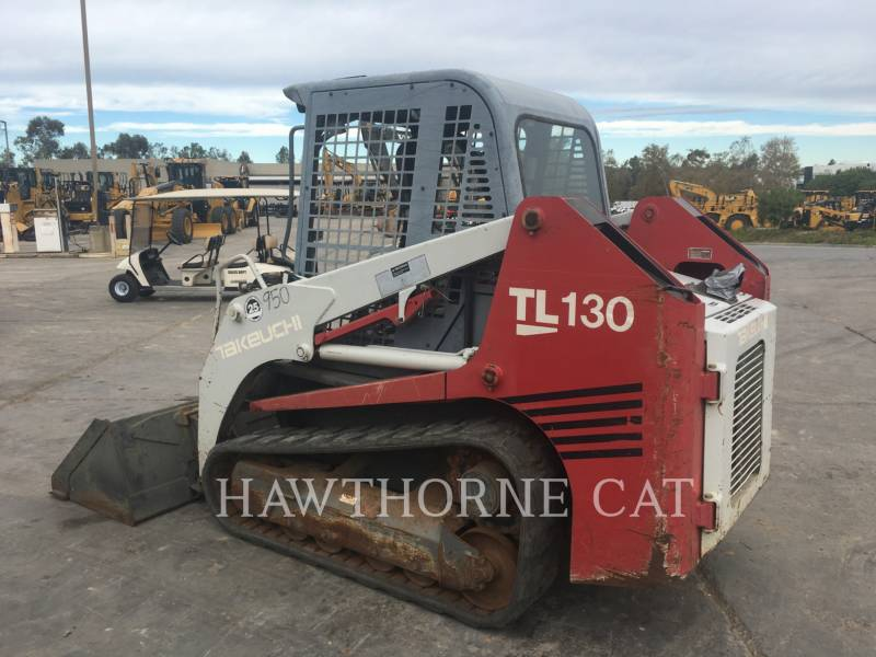 TAKEUCHI MFG. CO. LTD. SKID STEER LOADERS TL130 SSL equipment  photo 2