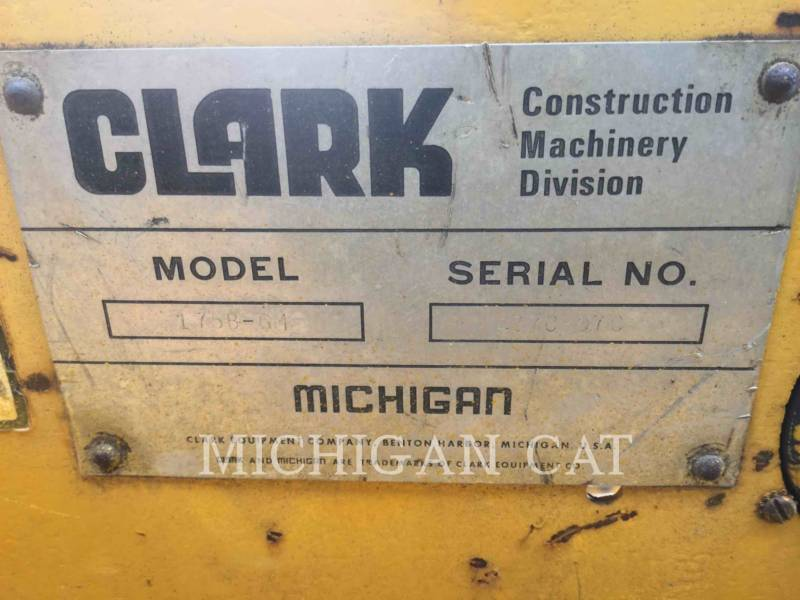 MICHIGAN CHARGEURS SUR PNEUS/CHARGEURS INDUSTRIELS 175B-GM equipment  photo 24