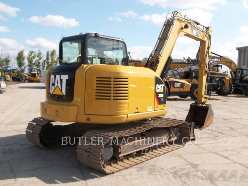 CATERPILLAR TRACK EXCAVATORS 308E CR equipment  photo 4