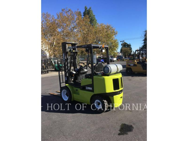 CLARK EQUIPMENT FORKLIFTS CGP30 equipment  photo 3