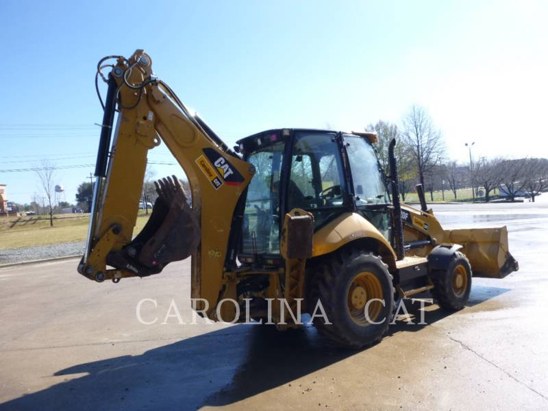 CATERPILLAR BAGGERLADER 420F CB equipment  photo 4