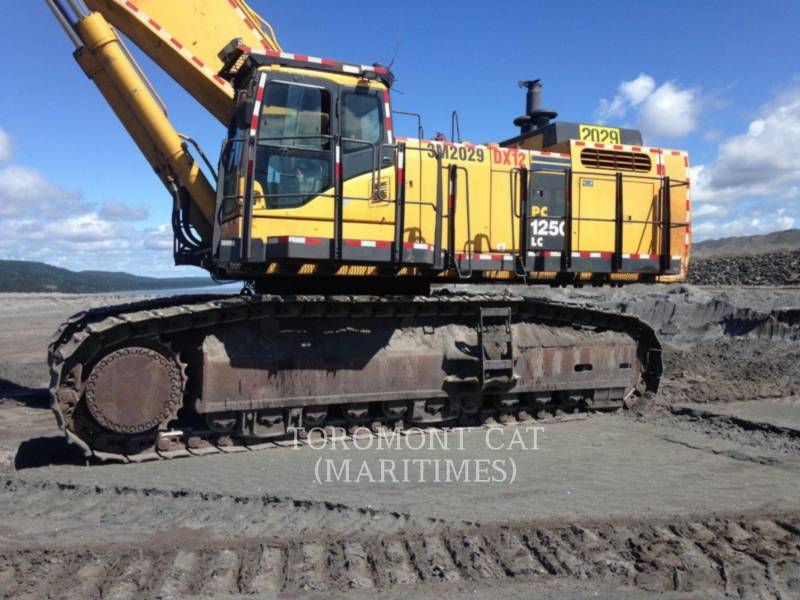 KOMATSU TRACK EXCAVATORS PC1250 LC equipment  photo 6