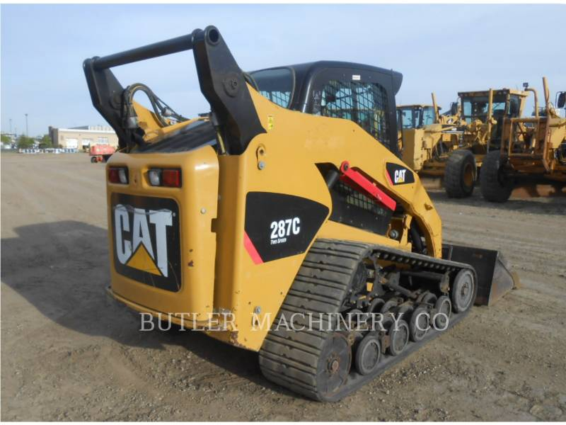 CATERPILLAR SKID STEER LOADERS 287 C equipment  photo 4