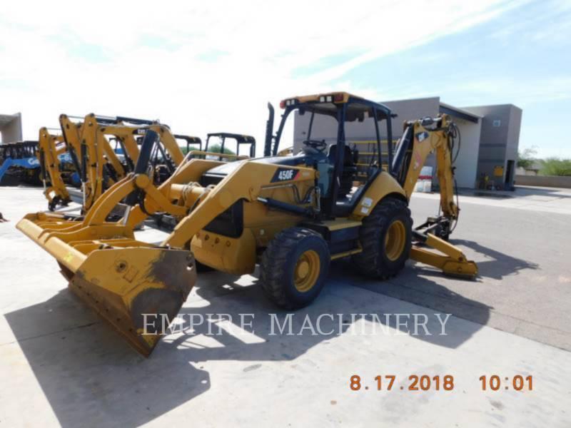 CATERPILLAR BACKHOE LOADERS 450F equipment  photo 4