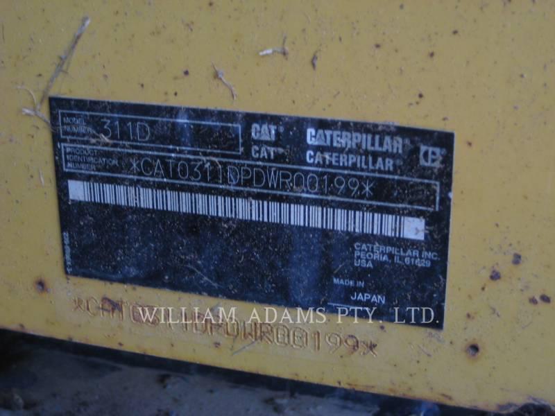CATERPILLAR 鉱業用ショベル/油圧ショベル 311 D LRR equipment  photo 7