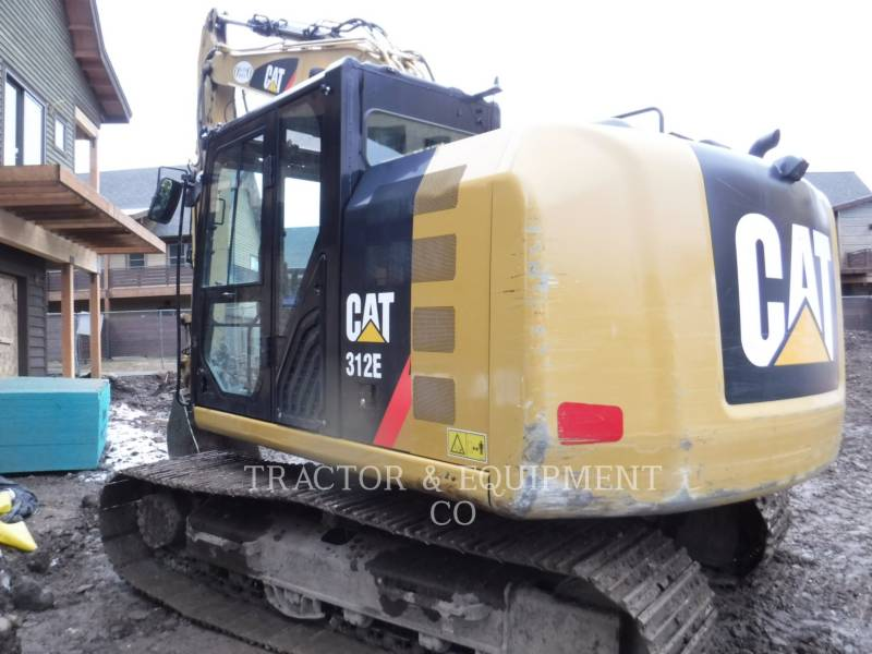 CATERPILLAR TRACK EXCAVATORS 312E equipment  photo 5
