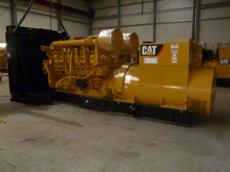 CATERPILLAR STATIONARY GENERATOR SETS 3512B HV11KV equipment  photo 1