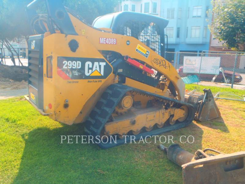 CATERPILLAR MINICARGADORAS 299D equipment  photo 3