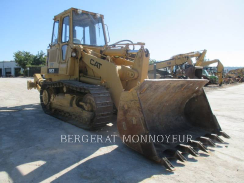 CATERPILLAR CHARGEURS SUR CHAINES 963 equipment  photo 2