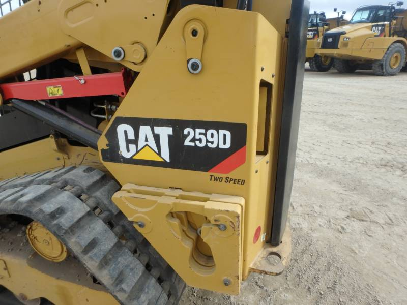 CATERPILLAR UNIWERSALNE ŁADOWARKI 259D equipment  photo 20