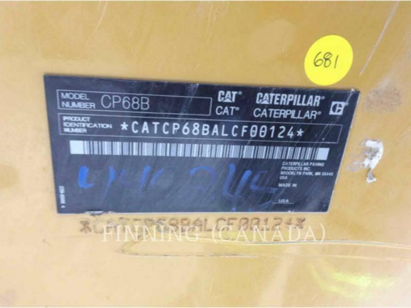 CATERPILLAR コンパクタ CP68B equipment  photo 10