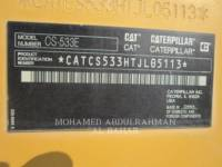 CATERPILLAR EINZELVIBRATIONSWALZE, GLATTBANDAGE CS 533 E equipment  photo 13