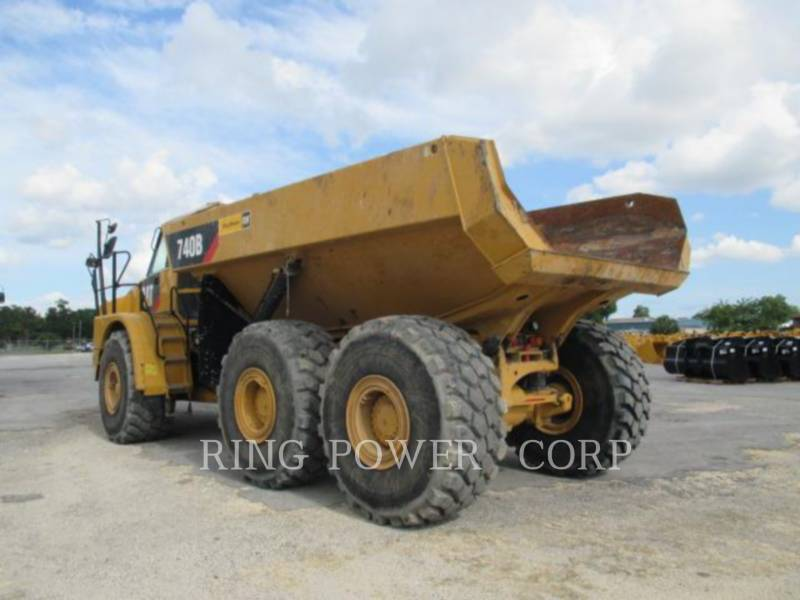 CATERPILLAR TOMBEREAUX ARTICULÉS 740B equipment  photo 4