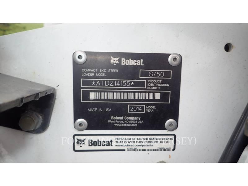 BOBCAT KOMPAKTLADER S750 equipment  photo 9