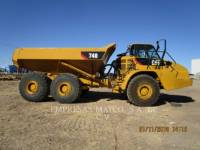 Equipment photo CATERPILLAR 740 TOMBEREAUX ARTICULÉS 1