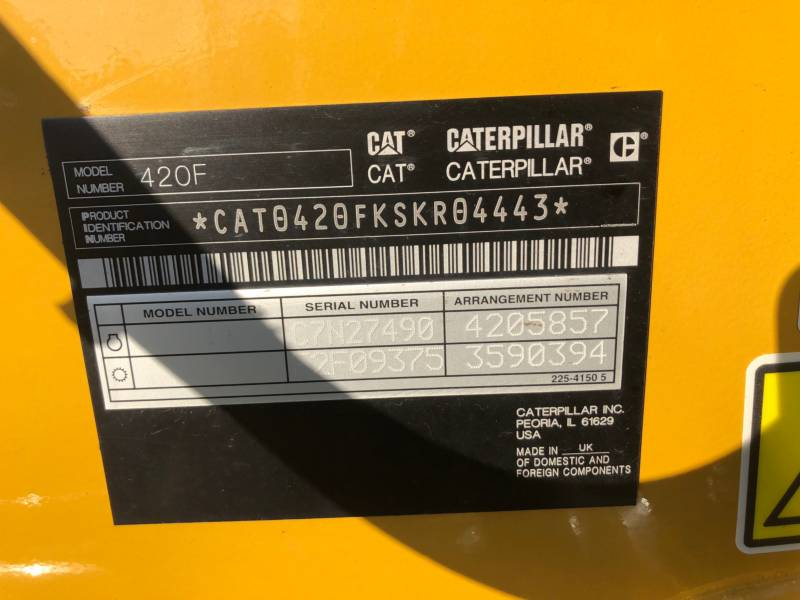 Caterpillar BULDOEXCAVATOARE 420FST equipment  photo 23