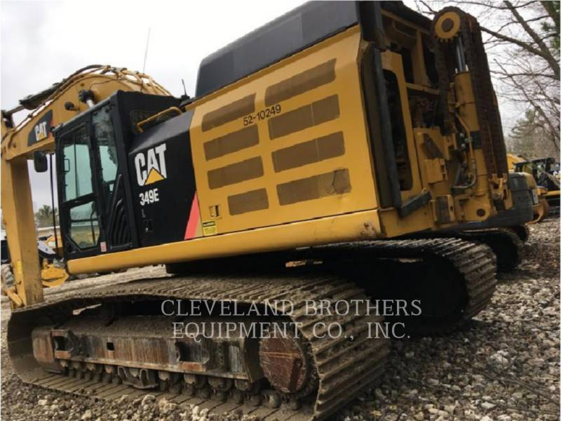 CATERPILLAR ESCAVATORI CINGOLATI 349EL equipment  photo 4