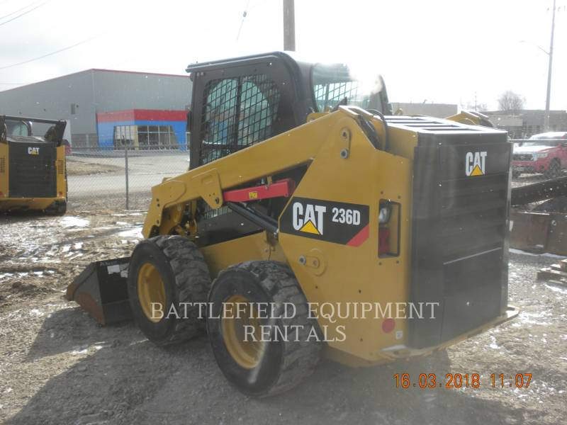 CATERPILLAR SCHRANKLADERS 236D equipment  photo 5