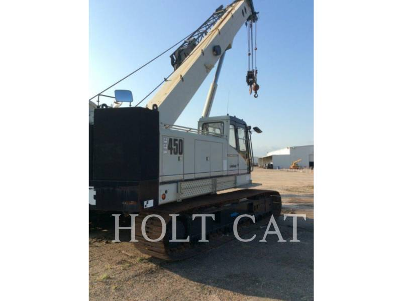 LINK-BELT CONST. CRANES TCC450 equipment  photo 1