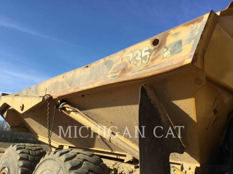 CATERPILLAR CAMIONES ARTICULADOS 735 T equipment  photo 20