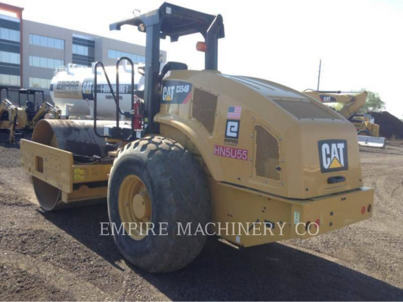 CATERPILLAR COMPACTEUR VIBRANT, MONOCYLINDRE À PIEDS DAMEURS CS54B equipment  photo 3