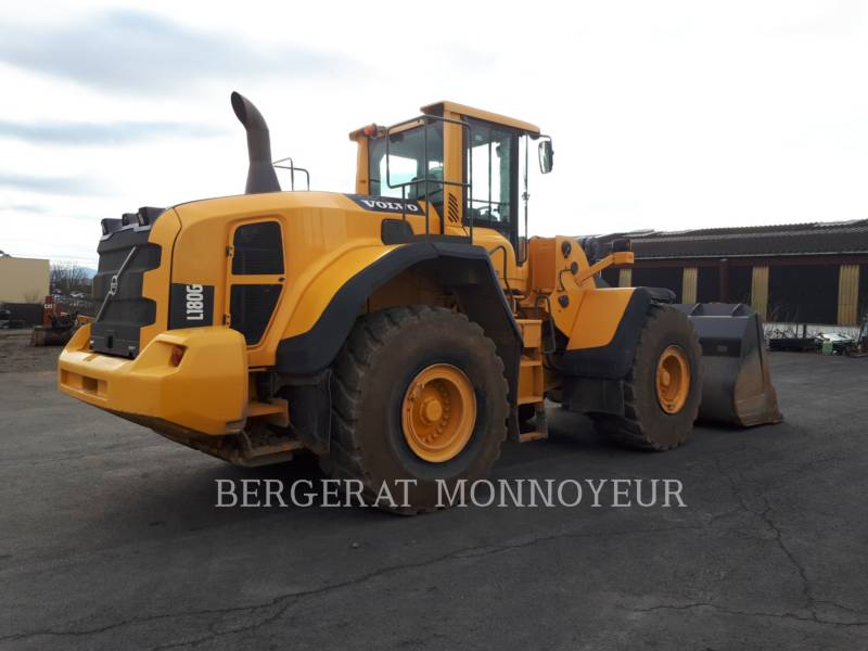VOLVO CONSTRUCTION EQUIPMENT CHARGEURS SUR PNEUS MINES L180G equipment  photo 3