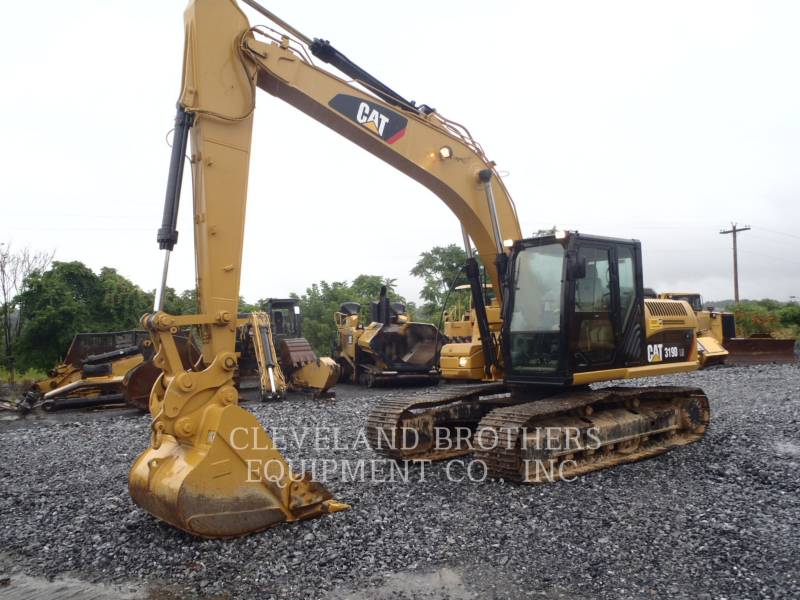 CATERPILLAR TRACK EXCAVATORS 319DLN equipment  photo 2