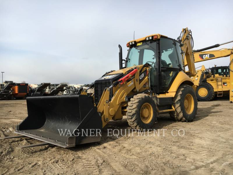CATERPILLAR BACKHOE LOADERS 430F IT4WD equipment  photo 1