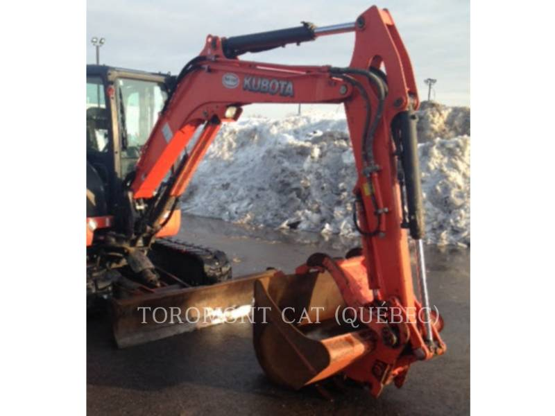 KUBOTA CORPORATION PELLES SUR CHAINES U55 equipment  photo 6