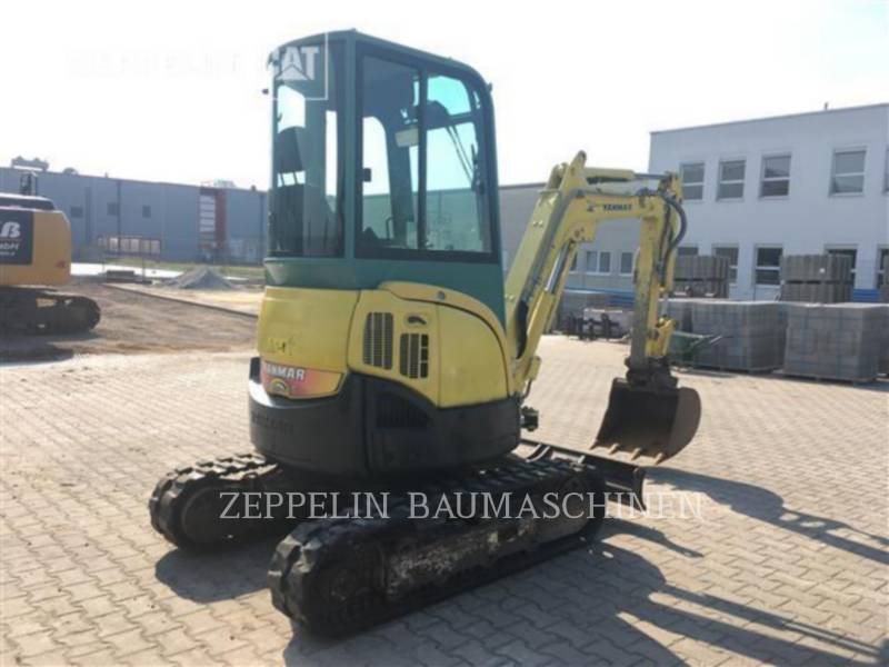 YANMAR KOPARKI GĄSIENICOWE VIO25-4 equipment  photo 4