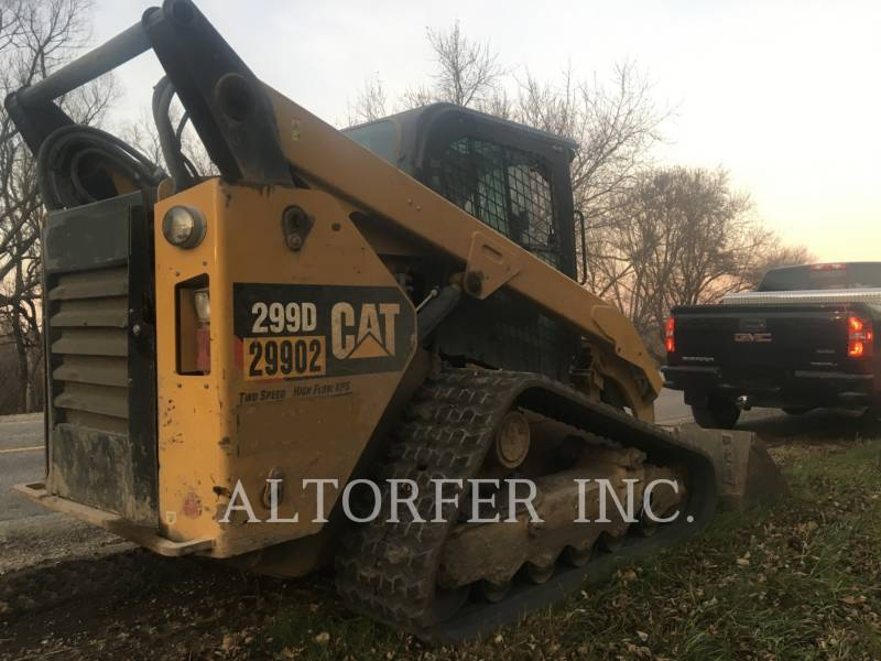 CATERPILLAR SKID STEER LOADERS 299D XPS equipment  photo 2
