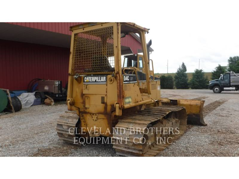 CATERPILLAR TRACK TYPE TRACTORS D4C LGP equipment  photo 4