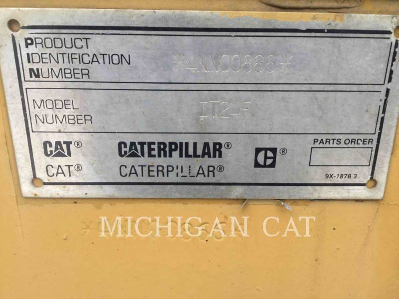 CATERPILLAR CARGADORES DE RUEDAS IT24F equipment  photo 24