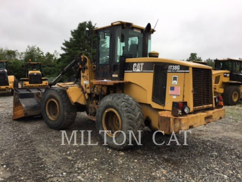 CATERPILLAR WHEEL LOADERS/INTEGRATED TOOLCARRIERS IT38 G II equipment  photo 5