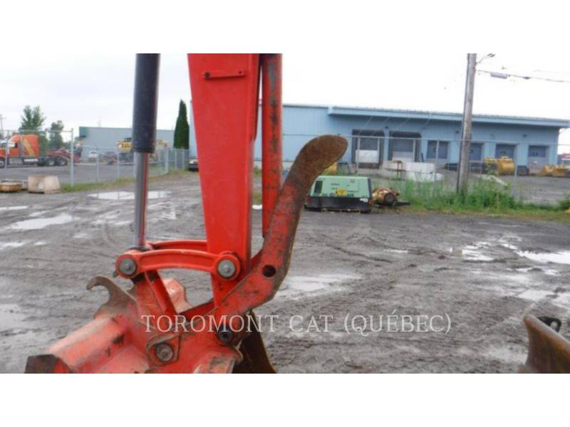 KUBOTA CORPORATION KOPARKI GĄSIENICOWE KX080 equipment  photo 6