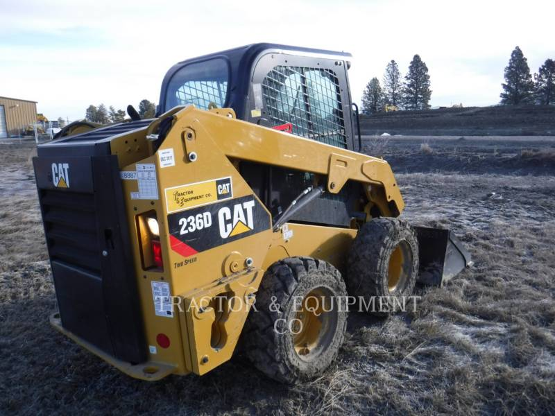 CATERPILLAR SKID STEER LOADERS 236D H2CB equipment  photo 6