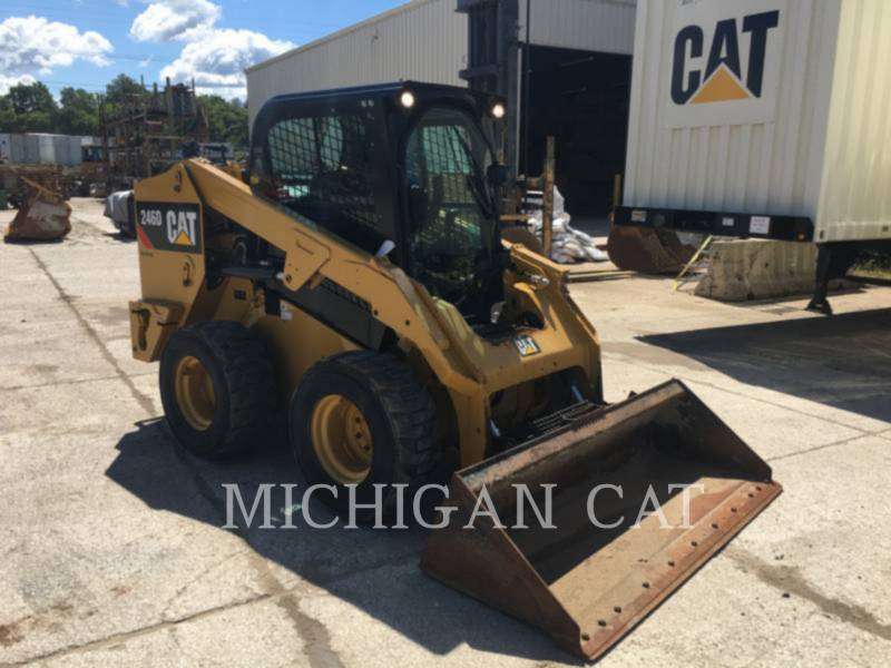 CATERPILLAR SKID STEER LOADERS 246D A2Q equipment  photo 2