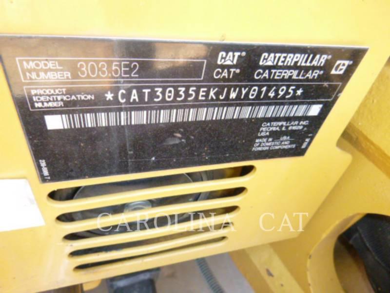 CATERPILLAR EXCAVADORAS DE CADENAS 303.5E2 equipment  photo 7