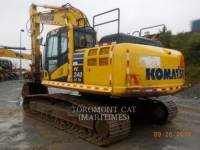 Equipment photo KOMATSU PC240 SHOVEL / GRAAFMACHINE MIJNBOUW 1