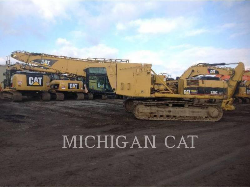 CATERPILLAR TRACK EXCAVATORS 330CL MH equipment  photo 7
