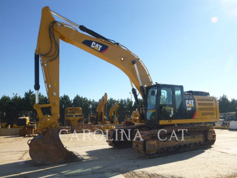 CATERPILLAR TRACK EXCAVATORS 336F QC equipment  photo 6