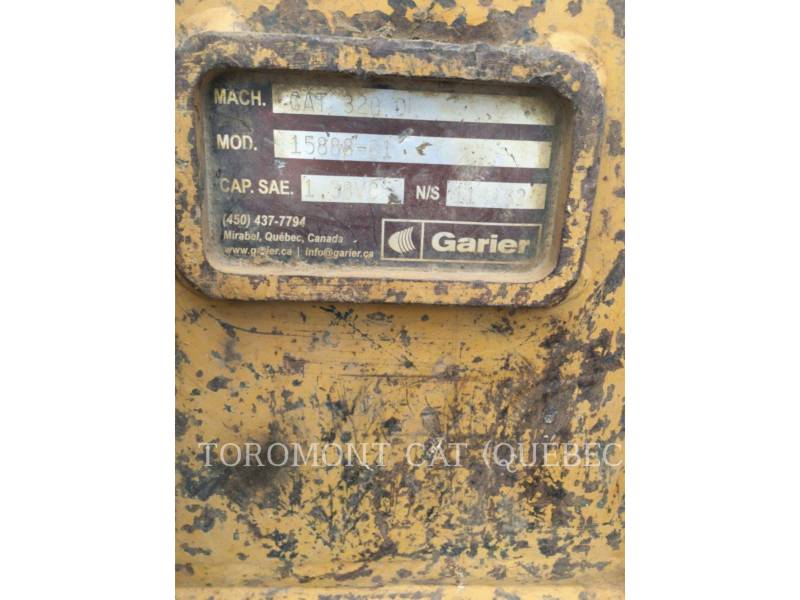 CATERPILLAR トラック油圧ショベル 320DL equipment  photo 11