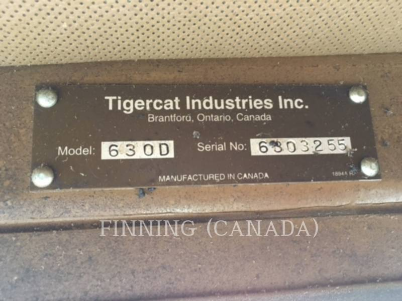 TIGERCAT FORESTAL - ARRASTRADOR DE TRONCOS 630D equipment  photo 5