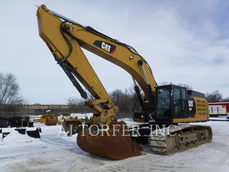 CATERPILLAR KETTEN-HYDRAULIKBAGGER 349EL equipment  photo 1