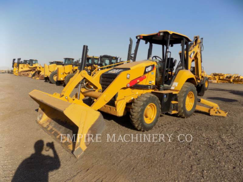 CATERPILLAR BAGGERLADER 416F2 4EO equipment  photo 4
