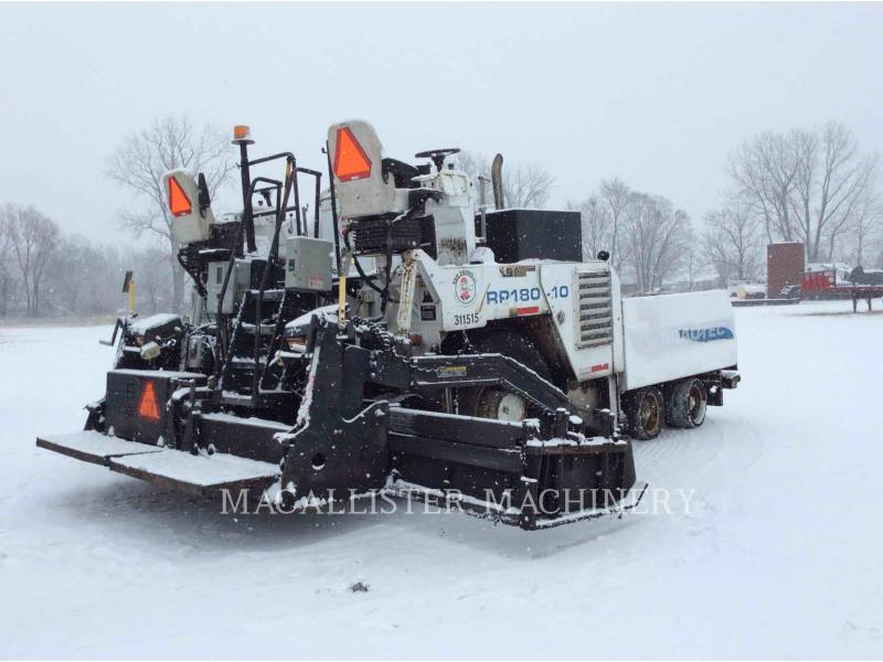 ROADTEC ASPHALT PAVERS RP180-10 equipment  photo 4
