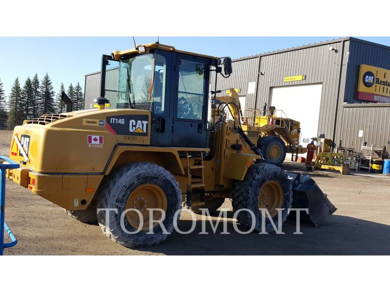 CATERPILLAR WHEEL LOADERS/INTEGRATED TOOLCARRIERS IT 14 G equipment  photo 1