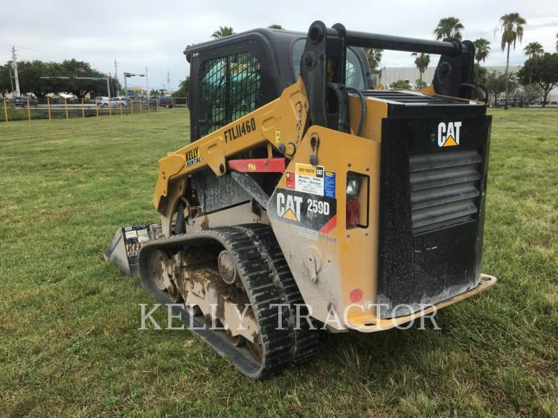 Caterpillar ÎNCĂRCĂTOARE PENTRU TEREN ACCIDENTAT 259 D equipment  photo 5