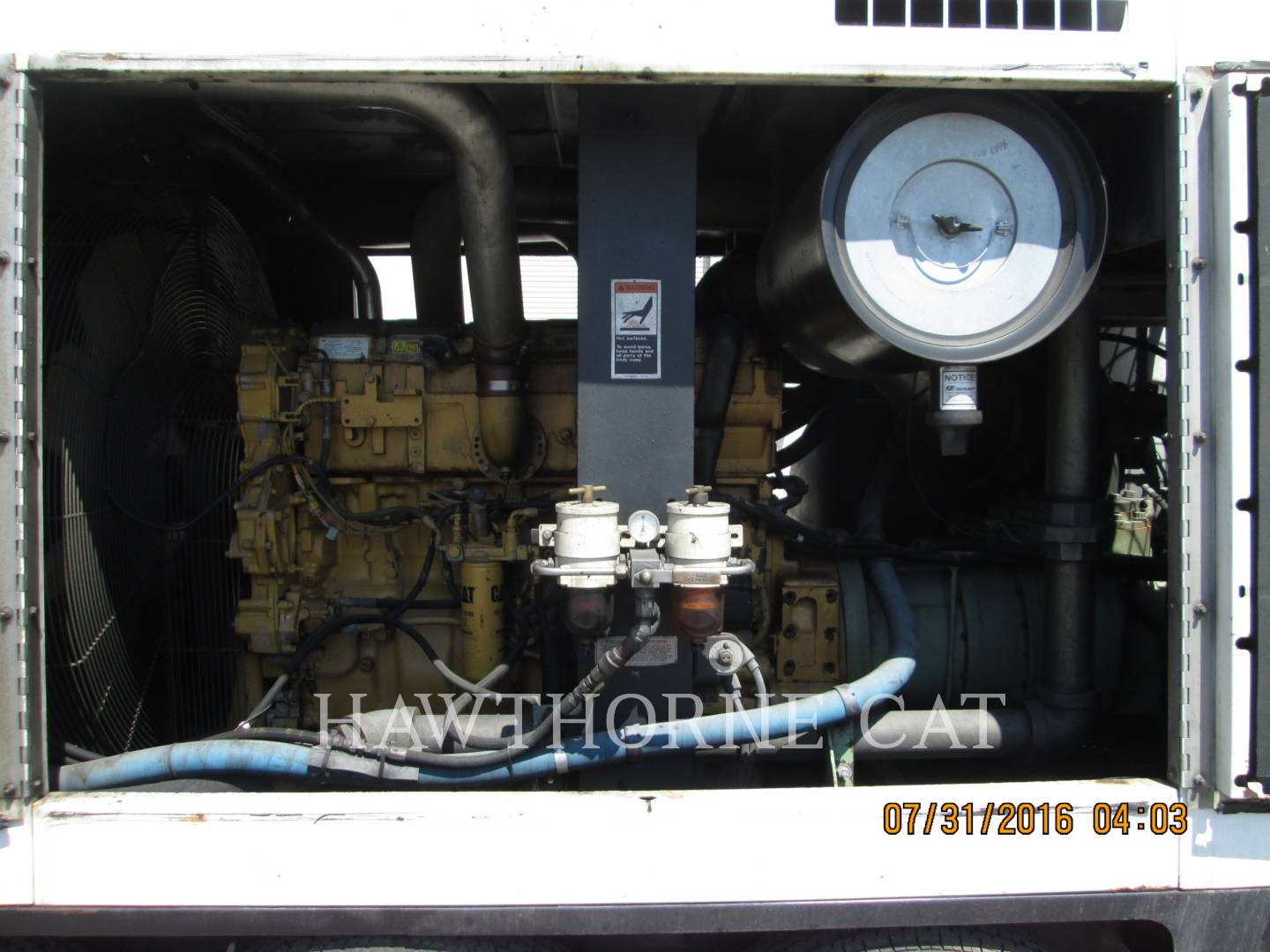 Detail photo of 2007 Sullair 1600HAF DTQ-CA3 from Construction Equipment Guide