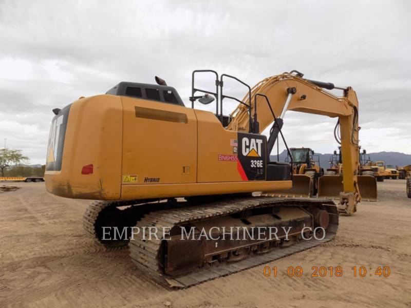 CATERPILLAR PELLES SUR CHAINES 336ELHYB P equipment  photo 2